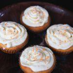 Muffinki dyniowe z kremem waniliowym