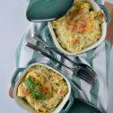 Zapiekane tortellini z prosciutto