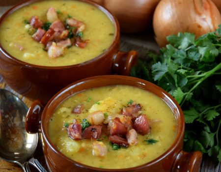 Zupa soczewicowa jak grochówka
