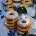 Donuty z borówkami