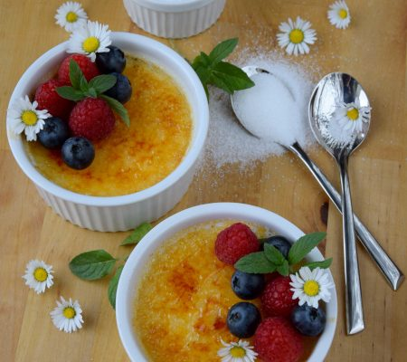 Klasyczne crème brûlée