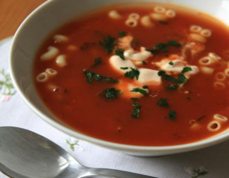Prosta zupa pomidorowa