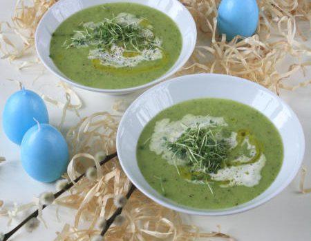 Zupa z rzeżuchą