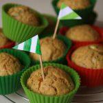Wytrawne muffinki z cukinią i wędzonym serek