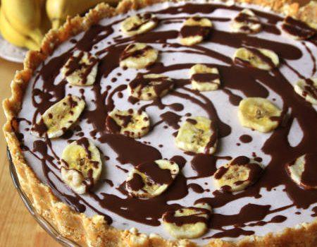 Tarta bananowo-czekoladowe