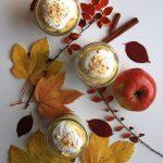 Mini desery z jabłkami i crème pâtissière