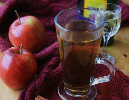 Sok jabłkowy z Beherovką na rozgrzewkę