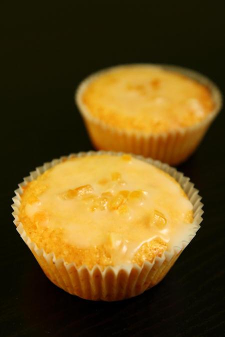 Muffiny cytrynowe z lukrem