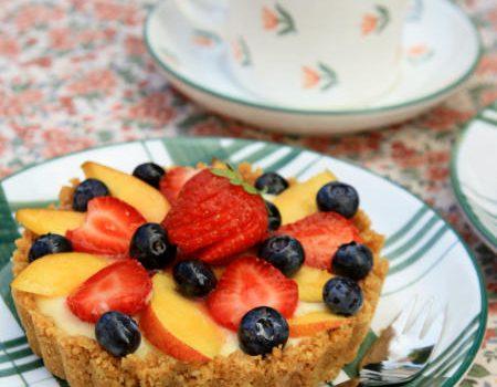 Tartaletki z owocami i crème pâtissière