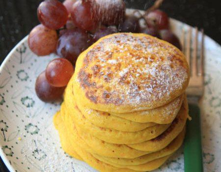 Pancakesy dyniowe