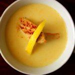 Kremowa zupa cytrynowa z kurczakiem