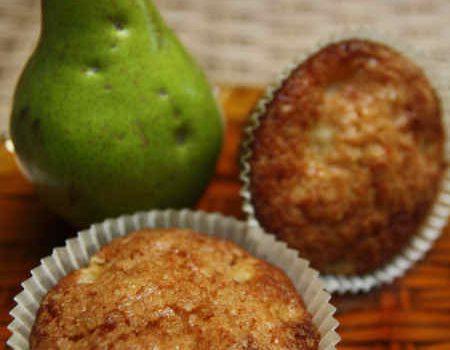Muffinki gruszkowe