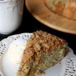 Ciasto pistacjowe z kruszonką
