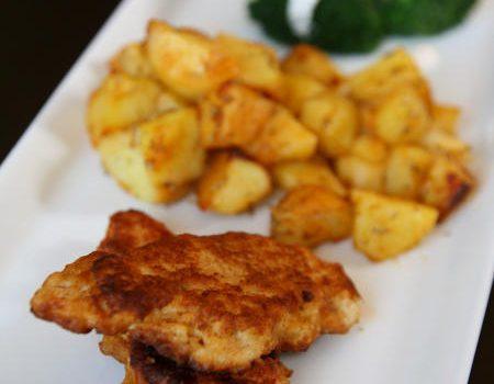 Filet z kurczaka w piwnej panierce