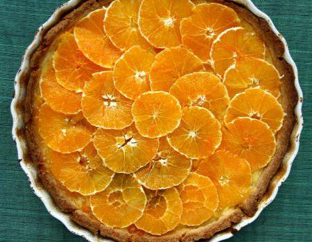 Tarta serowa z pomarańczami