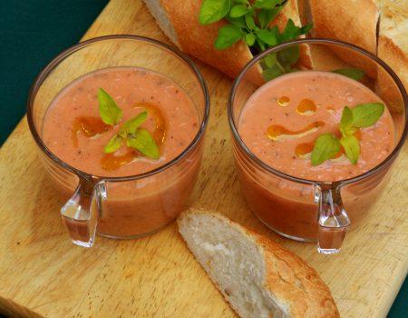 Chłodnik z pieczonych pomidorów