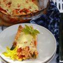 Zapiekane tortille z warzywami