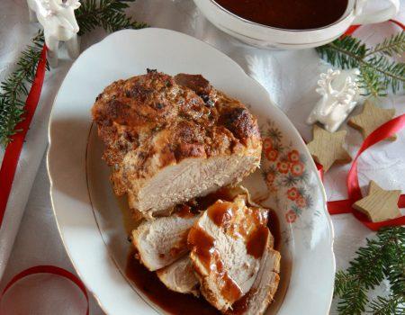 Świąteczna szynka pieczona w rękawie
