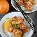 Lepki kurczak słodko-pikantny
