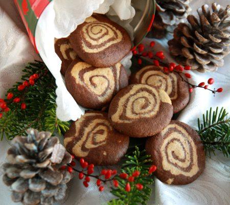 Ślimaczki kakaowo-piernikowe