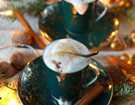 Piernikowa gorąca czekolada